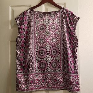 The Limited multi color blouse